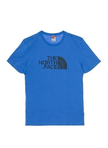 The North Face Easy Erkek T-Shirt Mavi Mavi